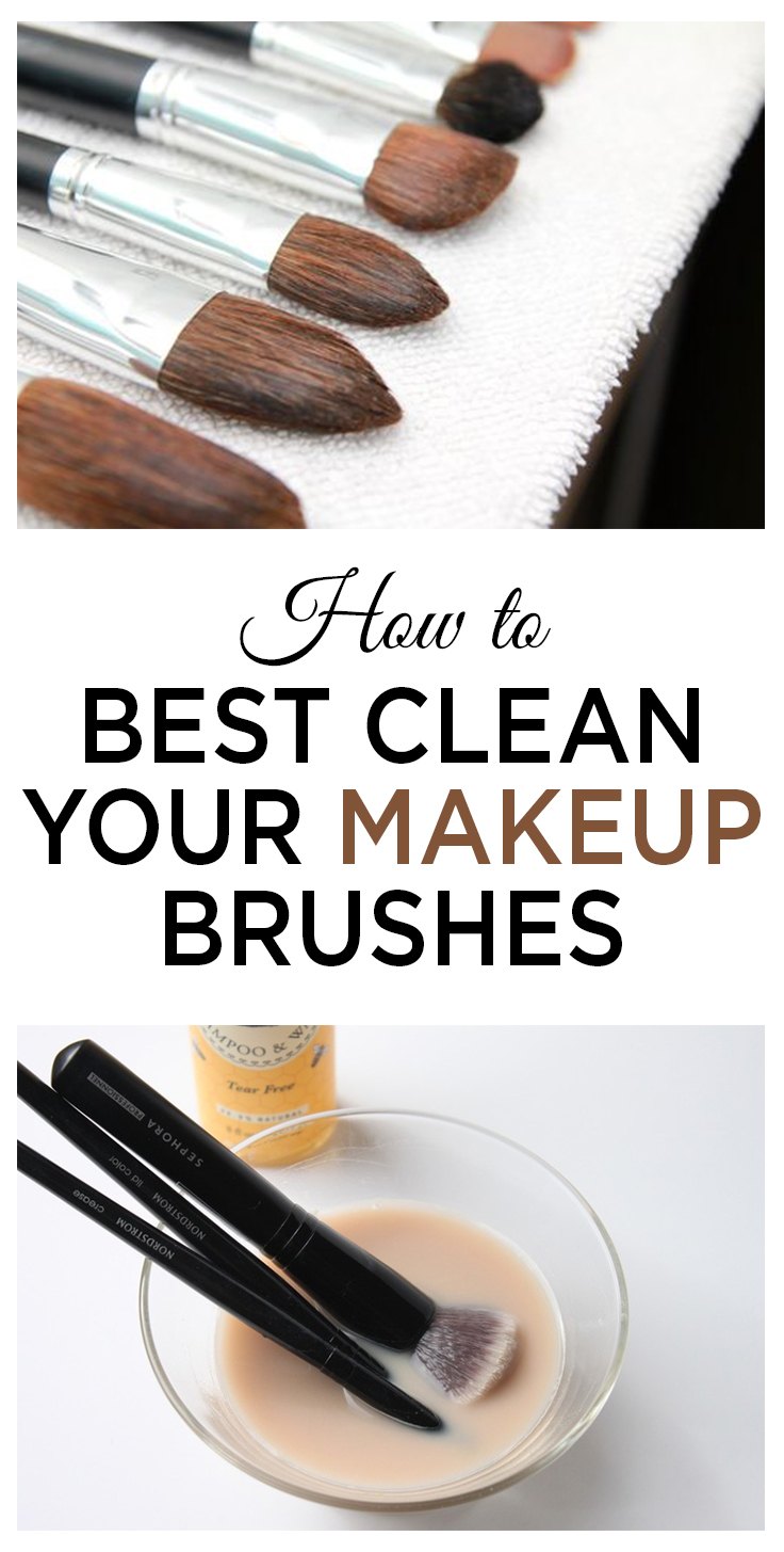 How to Best Clean Your Makeup Brushes