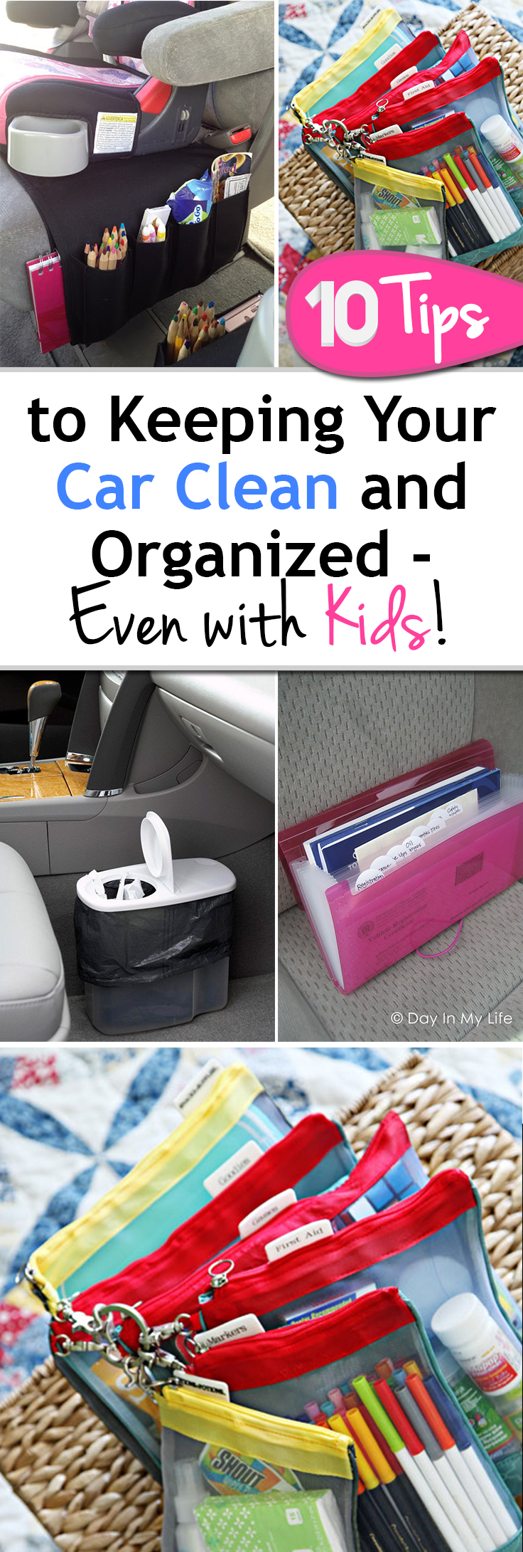 10 tips to keeping your car clean and organized even with - How to keep your car exterior clean ...
