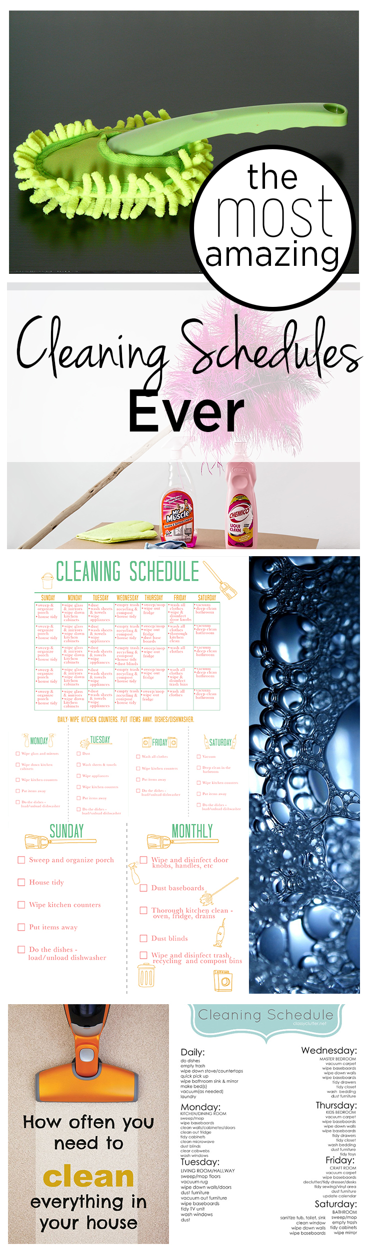 Cleaning, cleaning schedules, cleaning tips, popular pin, easy ways to clean, cleaning hacks, cleaning home, DIY cleaning, clean home.