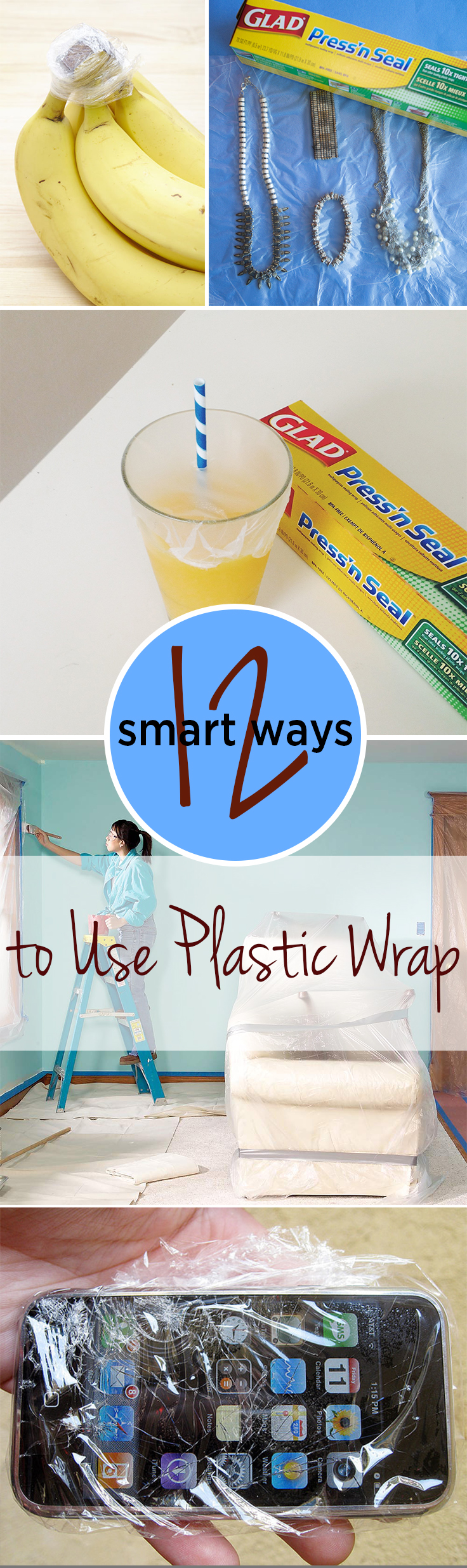 12 Smart Ways to Use Plastic Wrap