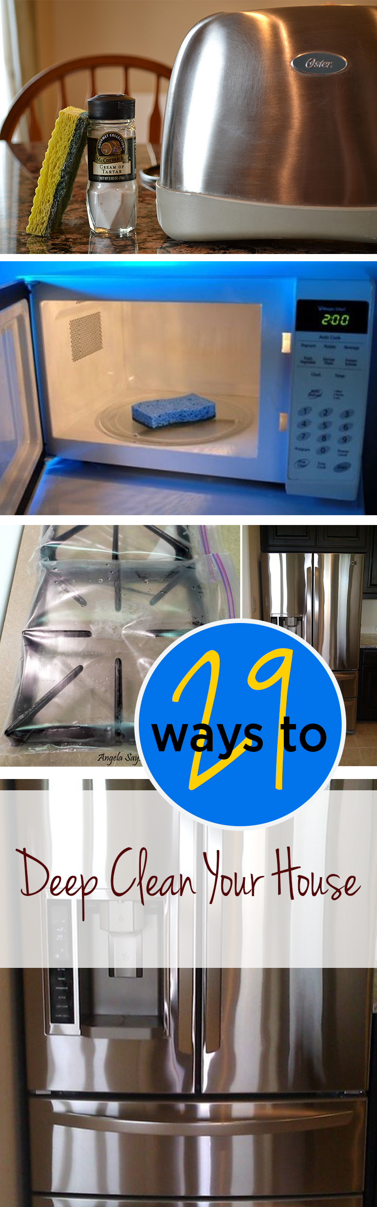 29 Ways To Deep Clean Your Home Wrapped In Rust