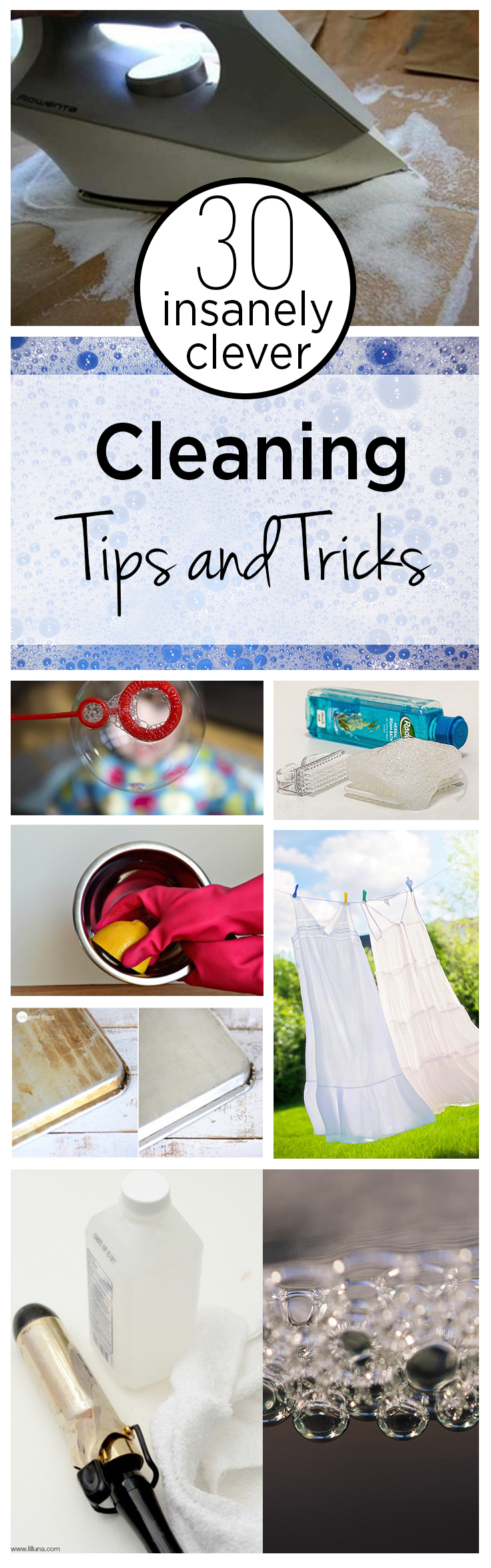 30 Insanely Clever Cleaning Tips and Tricks
