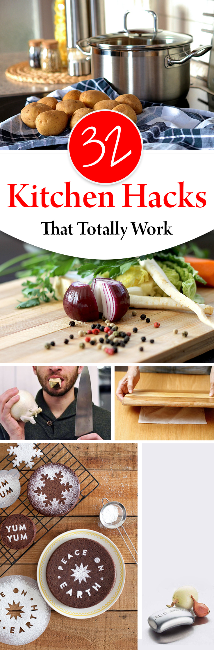 32 Kitchen Hacks That Totally Work