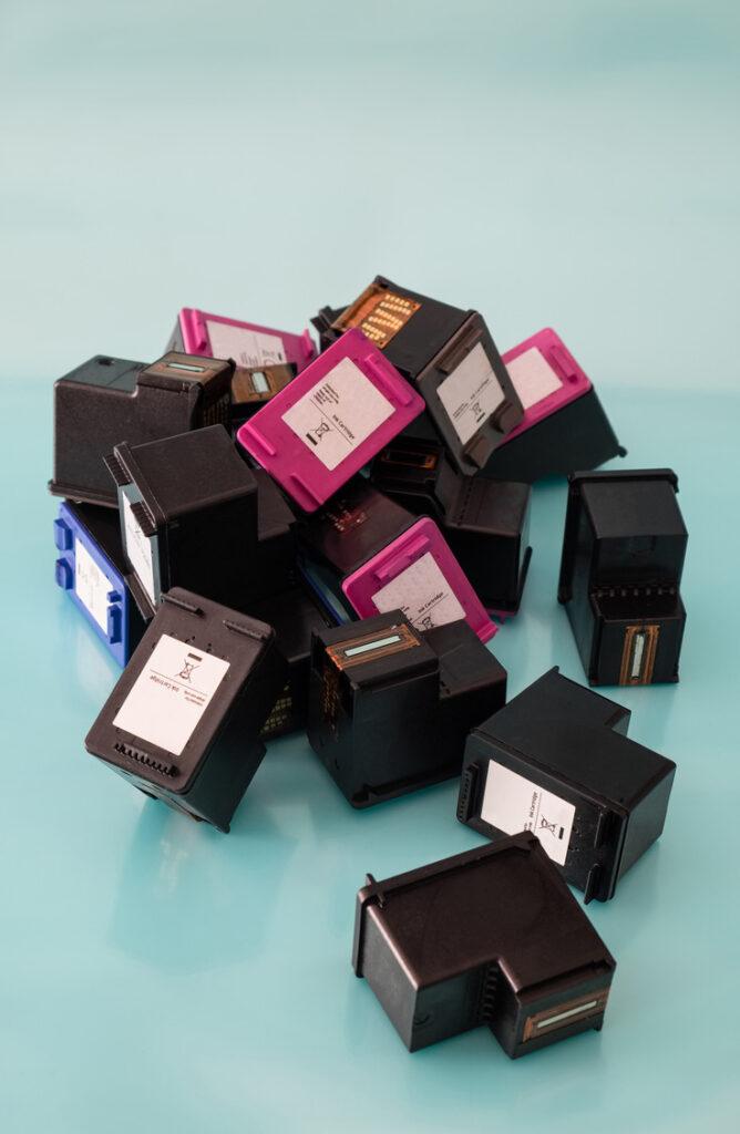 Old Ink Cartridges