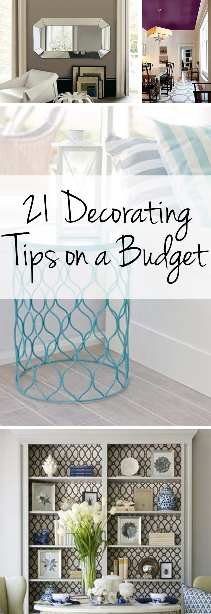 21 Decorating Tips on a Budget - Wrapped in Rust