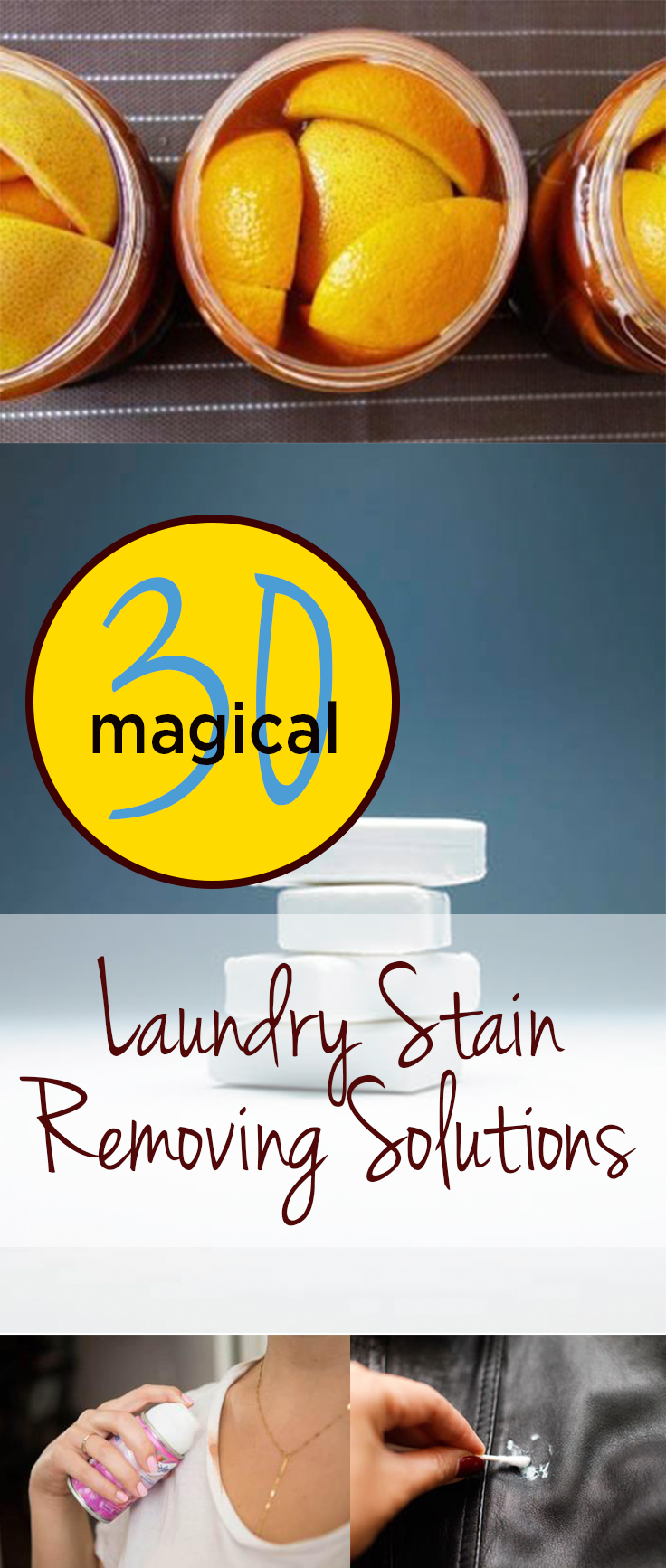 30 Magical Laundry Stain Removing Solutions