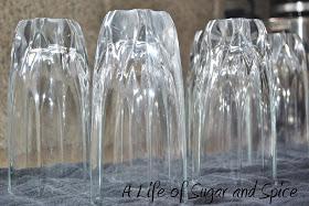 Cloudy glassware, fix cloudy glassware, dishwashing tips, dishwashing hacks, popular pin, clean glassware, kitchen cleaning hacks.