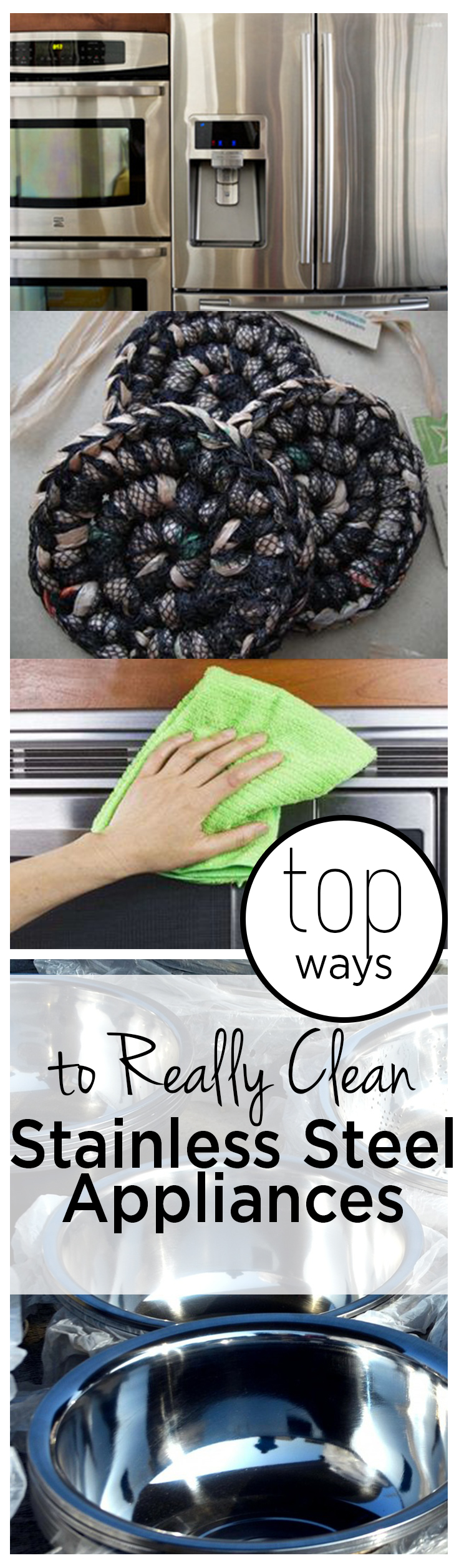 Top Ways to Really Clean Stainless Steel Appliances
