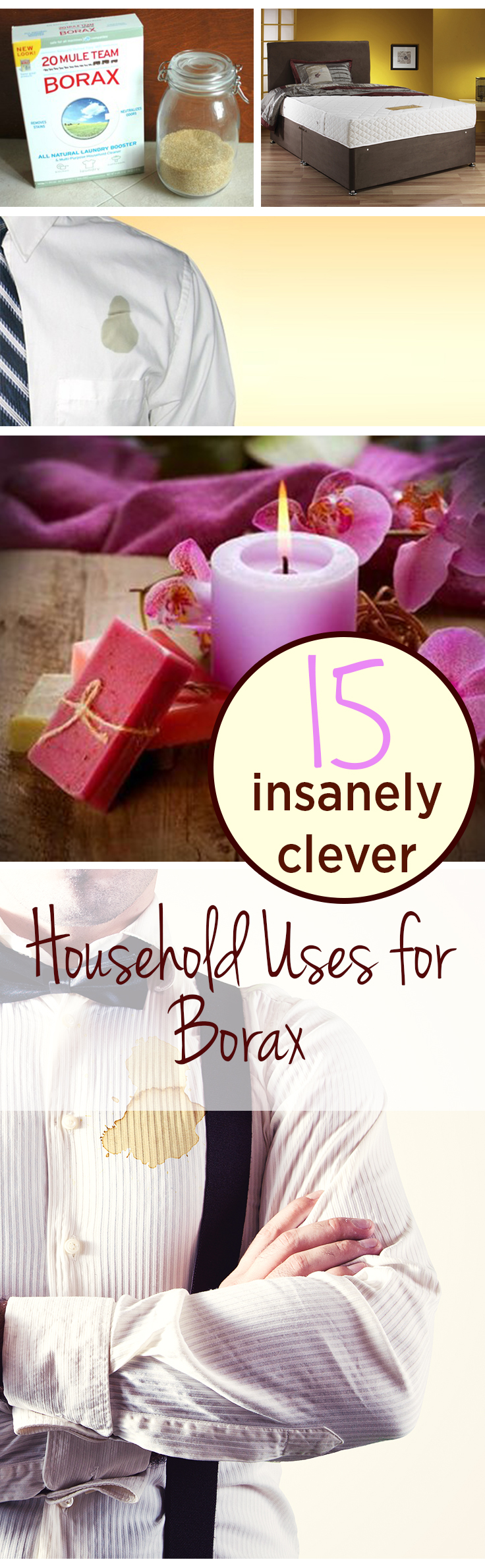 15 Insanely Clever Household Uses for Borax