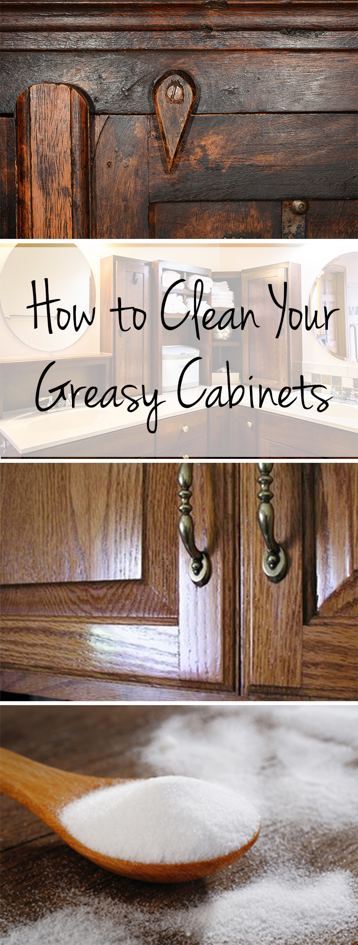 How to clean your greasy cabinets wrapped in rust - How to remove grease stains from kitchen cabinets ...