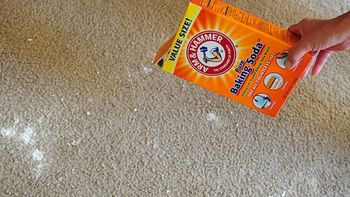 How To Get Rid of Odors in carpet using baking soda