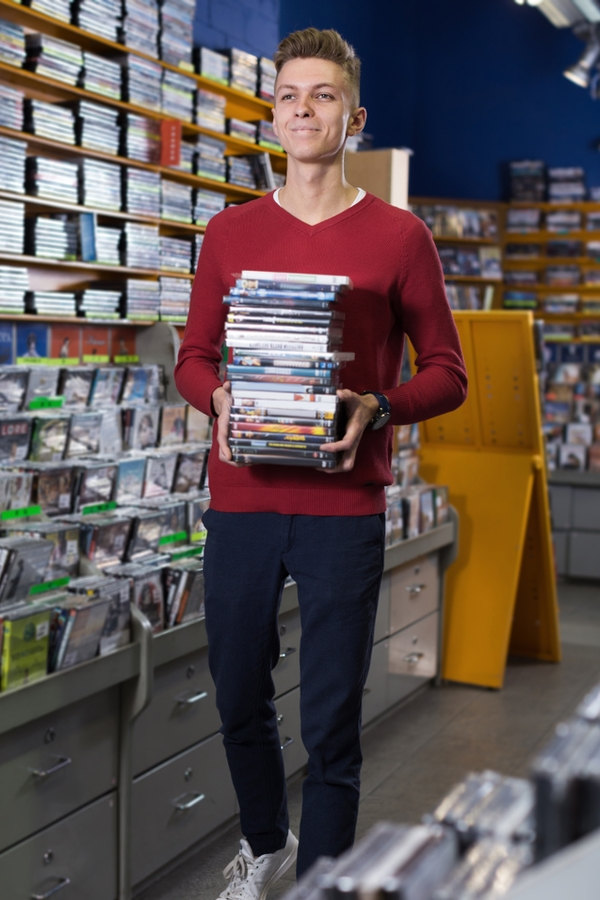 Don't spend more money than you have to on some of the basics your home and family need. Here are some things you should always buy at thrift stores! They always have a great selection of DVDs.