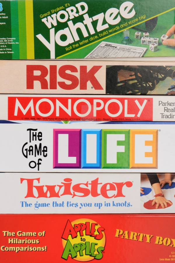 Don't spend more money than you have to on some of the basics your home and family need. Here are some things you should always buy at thrift stores! They always have a great selection of board games!