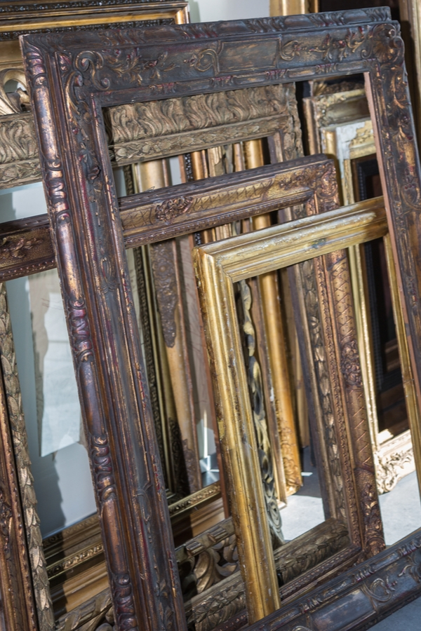 Don't spend more money than you have to on some of the basics your home and family need. Here are some things you should always buy at thrift stores! They always have a great selection of picture frames.
