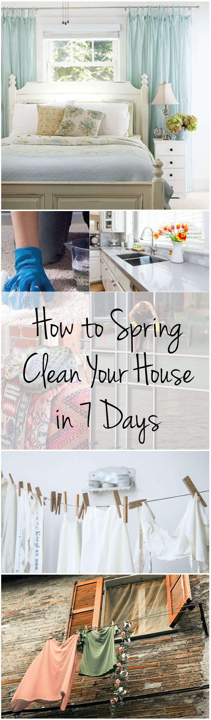 How To Spring Clean Your House In 7 Days Wrapped In Rust