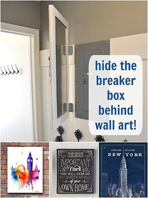25 Brilliant Ways to Hide all the Eyesores in Your Home 4 20 brilliant ways to hide all the eyesores in your home page 7 how to cover fuse box at n-0.co