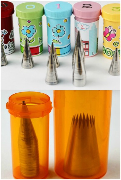 Pill bottles, uses for pill bottles, things to do with pill bottles, popular pin, repurpose projects, DIY projects.