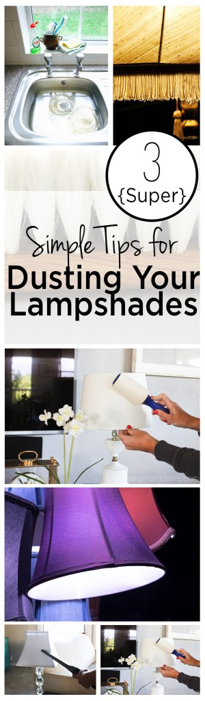 Dusting, dusting hacks, lampshade tips, cleaning hacks, dust free home, popular pin, clean home, home cleaning tips.