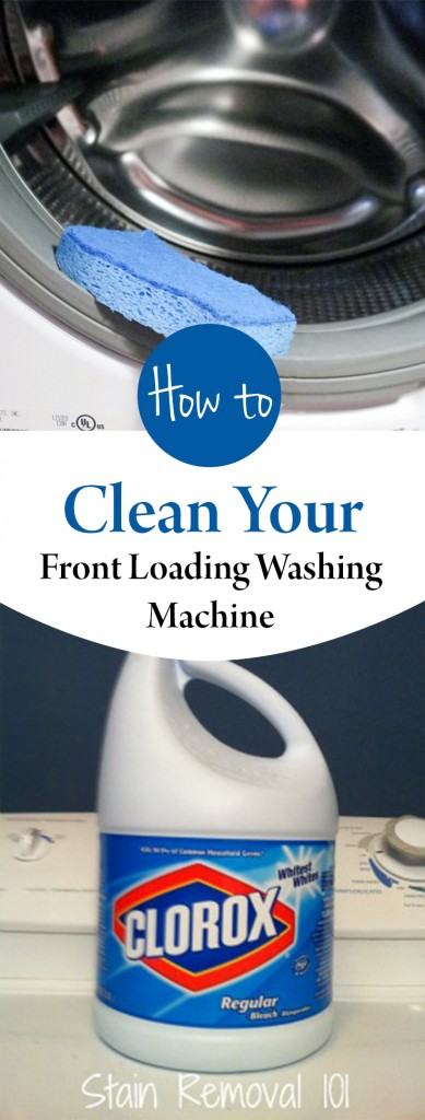 cleaning a front loading washing machine