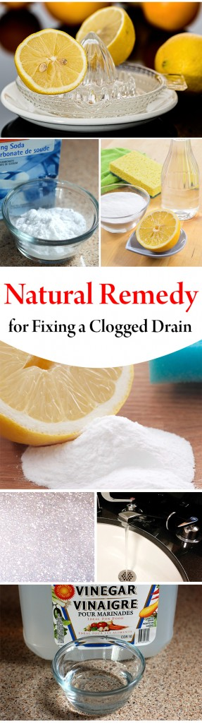 Unclog Drain Natural Remedy Shower