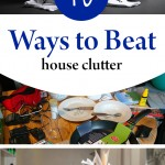 Cutter, house clutter, how to beat house clutter, popular pin, cleaning, cleaning tips, clutter free home, clutter free living.