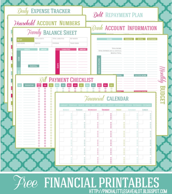 15 Printables Perfect for Organization4
