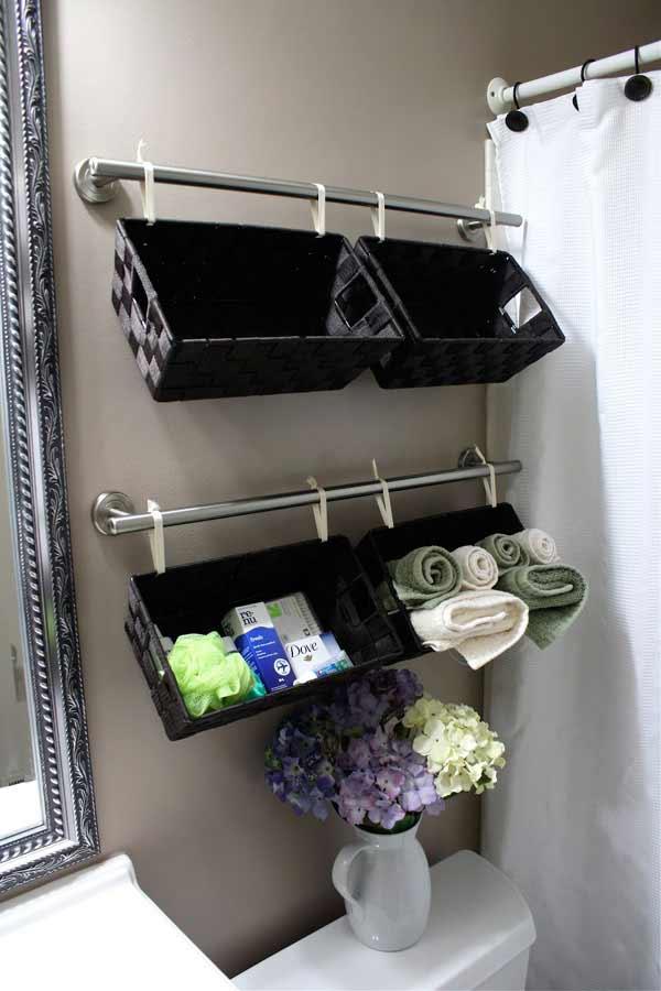 15 Ways to DIY Your Bathroom Storage