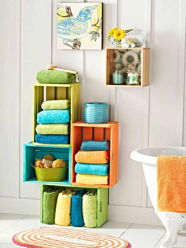 15 Ways to DIY Your Bathroom Storage14