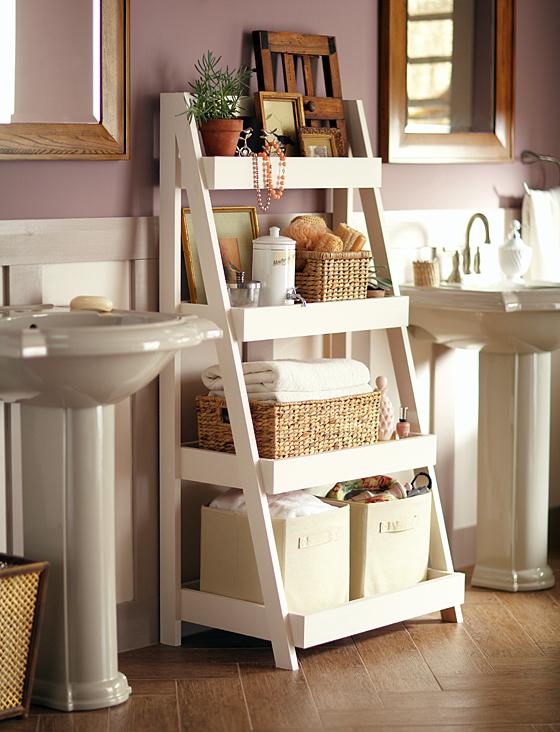 15 Ways to DIY Your Bathroom Storage15
