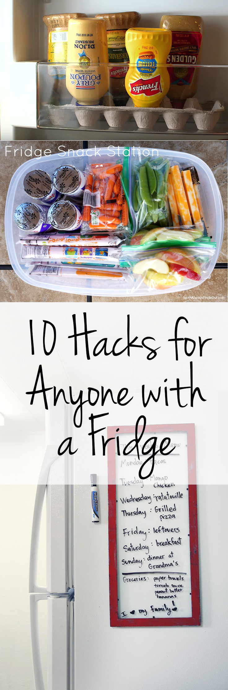 Organization, Home Organization, Fridge Hacks, Popular Pin, Cleaning TIps and Tricks, Kitchen, Kitchen Storage, Kitchen Hacks, Cooking Hacks