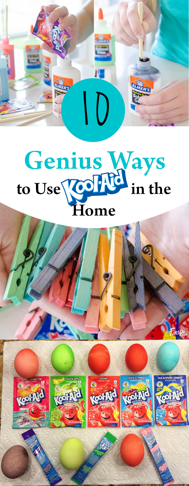 Kool Aid, Things to Do With Kool Aid, Home Hacks, Life Tips, Cleaning Tips and Tricks, Easy Cleaning Hacks, Uses for Kool Aid.