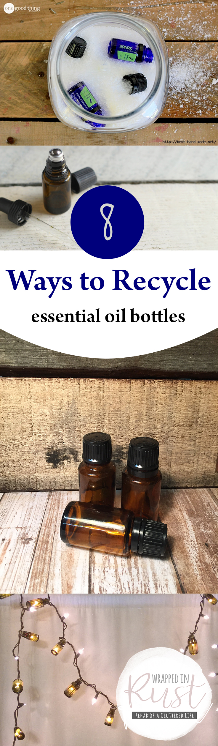 Essential Oils, Essential Oil Bottles, Things to Do With Old Essential Oil Bottles, How to Reuse Essential Oil Bottles, Repurpose Essential Oil Bottles, How to Recycle Essential Oil Bottles, Popular Pin