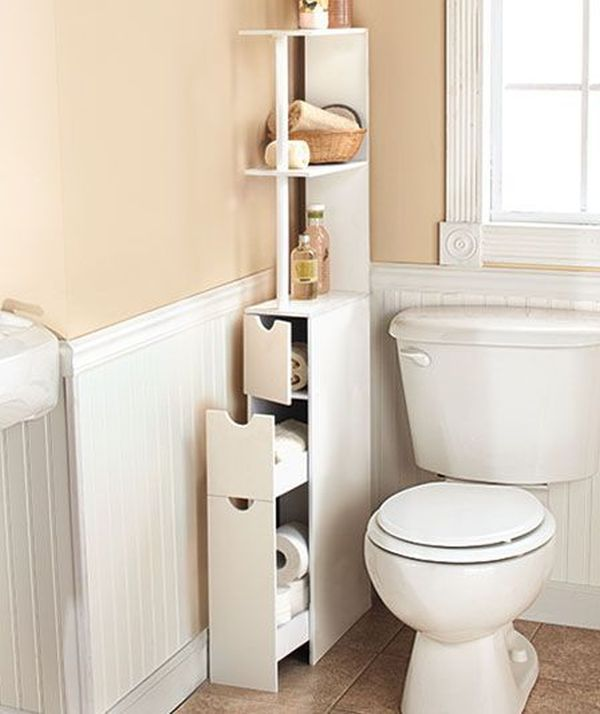 Corner Bathroom Storage