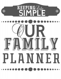 Printables For Organization