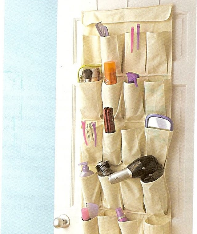 Organize, Organize Easily, Easy Organization Ideas, Clutter Free Home, How to Clean Your Home, How to Organize With An Over The Door Shoe Organizer, Easy Ways to Organize Your Home, Popular Pin