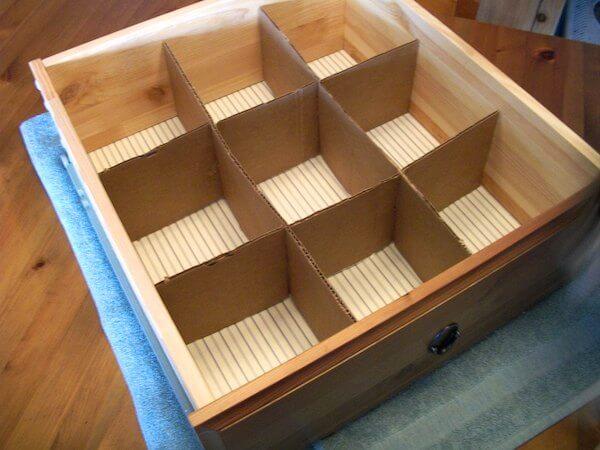 Cardboard-Drawer-Dividers