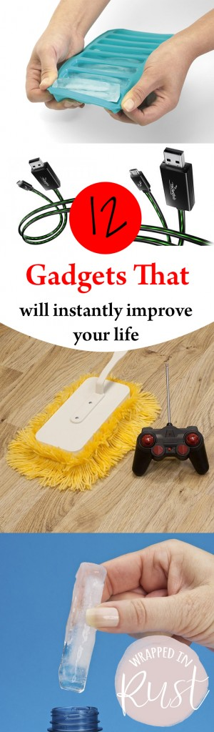 12 Gadgets That Will Instantly Improve Your Life- Life Hacks, Tips and Tricks, Cool Phone Apps, Gadgets That Will Improve Your Life, Life Changing Hacks, Life Hacks, Simple Life Hacks