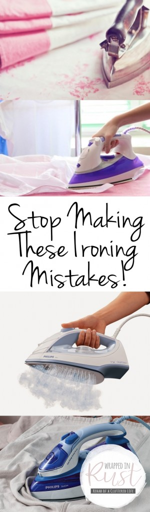 Stop Making These Ironing Mistakes! Ironing, Ironing Mistakes, How to Iron, Ironing Tips and Tricks, Life Hacks, Life Tips and Tricks, Cleaning, Clean Your Home, Organize Your Home, Caring for Clothing, How to Care for Your Clothing, Popular Pin