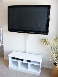 How To Hide Cord Clutter