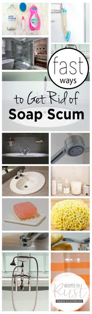 Fast Ways to Get Rid of Soap Scum| How to Get Rid of Soap Scum, Getting Rid of Soap Scum, Natural Living, Natural Home, Easy Ways to Get Rid of Soap Scum, Removing Soap Scum, Popular Pin