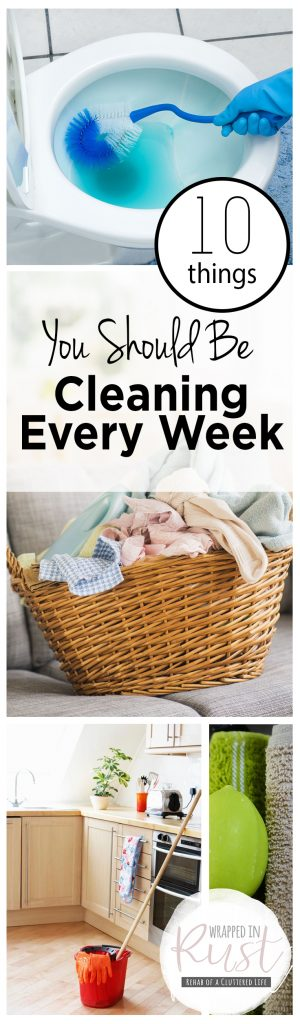 10 Things You Should Be Cleaning Every Week| Cleaning, Home Cleaning Tricks, Clean These Items Every Week, Clean Home, Clean Home Hacks, How to Clean Your Home, Home Cleaning Tips and Tricks, Have The Cleanest Home,Popular Pin