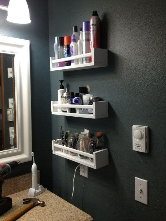 Bathroom Storage, Bathroom Storage Secrets, Storage Hacks, Bathroom Storage Ideas, How to Organize Your Bathroom, How to Create Storage Space In the Bathroom, DIY Home