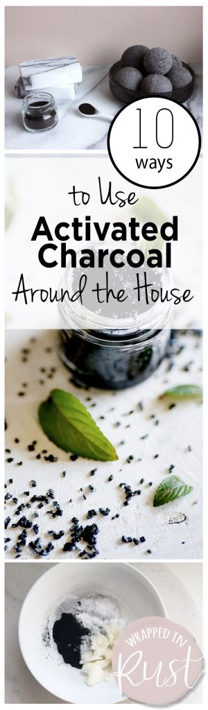 Uses for Activated Charcoal, How to Use Activated Charcoal, Home Hacks, Using Charcoal Throughout Your Home, Home Cleaning Hacks, Home Care TIps and Tricks, Products Made from Charcoal