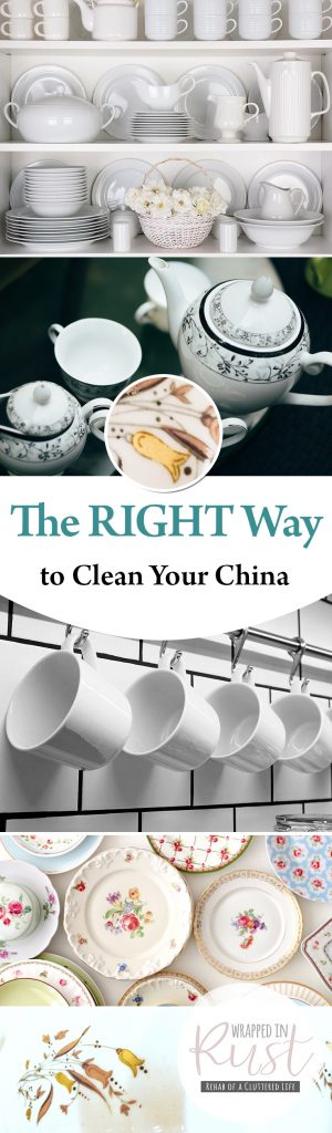 The RIGHT Way to Clean Your China| Cleaning China, How to Clean China, Cleaning, Clean Dishes, How to Clean Dishes, Cleaning Hacks, Cleaning 101, China Care. #ChinaCare #Cleaning #CleanKitchen #CleaningTips