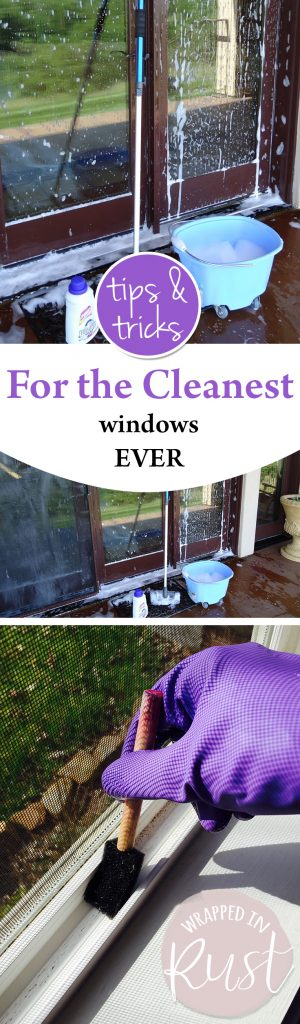 Tips and Tricks for the Cleanest Windows EVER| How to Get Clean Windows, Window Cleaning Tips, Clean Windows Easily, How to Clean Windows Easily, Window Cleaning TIps, Window Cleaning 101, Popular Pin