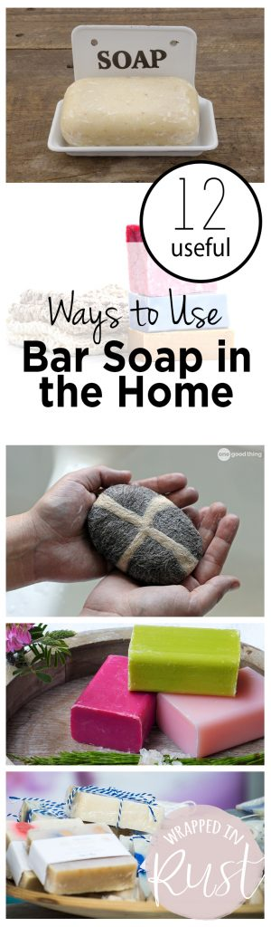12 Useful Ways to Use Bar Soap in the Home| Bar Soap, Uses for Bar Soap, Bar Soap Hacks, Life Hacks, Life Hacks and Tips, Cleaning Tips and Tricks, Home Cleaning TIps #BarSoap #CleaningTips