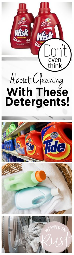 Don't Even Think About Cleaning With These Detergents!| Detergents, Laundry Detergents, Laundry Hacks, Laundry Tips and Tricks, Cleaning Tips and Tricks, Cleaning Hacks, Laundry Cleaning TIps, Popular Pins #LaundryTips #CleaningHacks #LaundryDetergentHacks