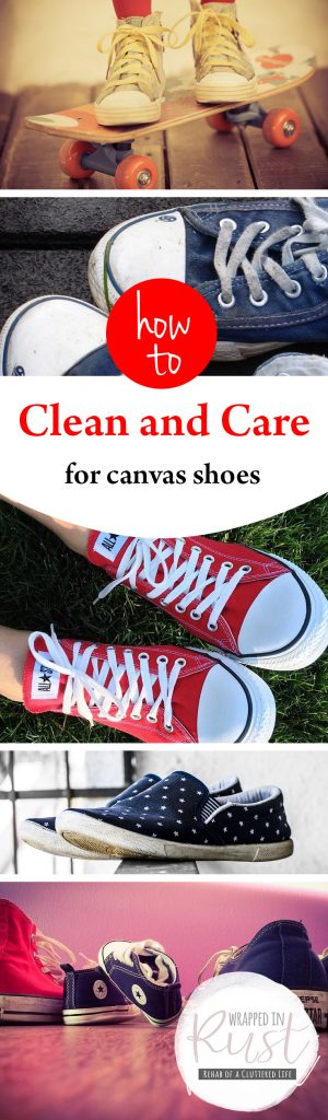 How to Clean and Care for Canvas Shoes| Cleaning, Cleaning and Caring for Canvas Shoes, How to Clean Canvas Shoes, Cleaning, Cleaning Hacks, DIY Cleaning, DIY Cleaning Hacks #Cleaning #DIYCleaning