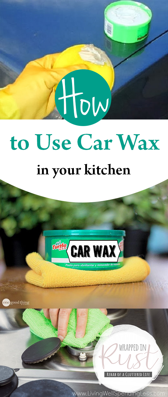 how to use car wax in your kitchen wrapped in rust. Black Bedroom Furniture Sets. Home Design Ideas