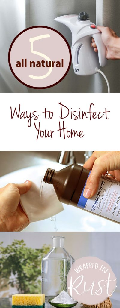 5 All Natural Ways to Disinfect Your Home| Cleaning, Cleaning Hacks, Cleaning Tips, Cleaning Products Homemade, Cleaning Products DIY, DIY Cleaning Products, All Natural Cleaners, All Natural Cleaners DIY